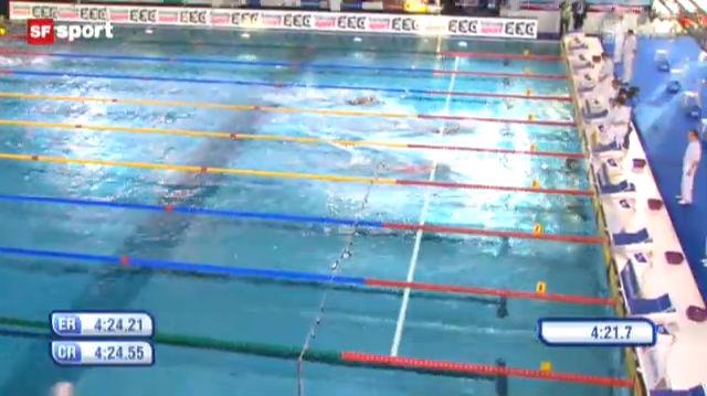 Schwimmen: Kurzbahn-EM in Chartres