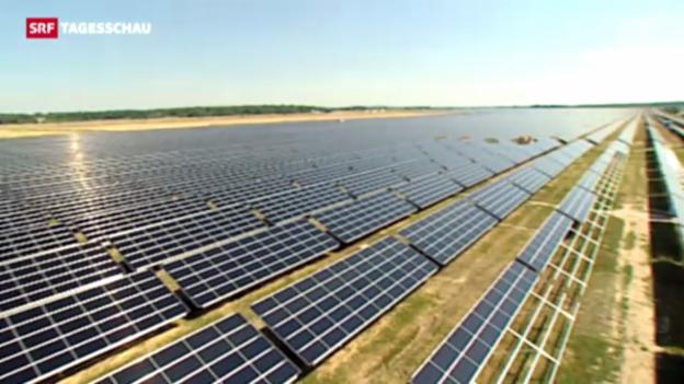 Video «Strafzölle auf chinesische Solarpanels» abspielen
