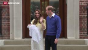 Video «Zuwachs für das britische Königshaus» abspielen