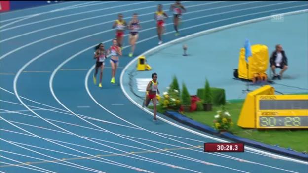 Video «Schlussphase von Dibabas Lauf («sportlive»)» abspielen