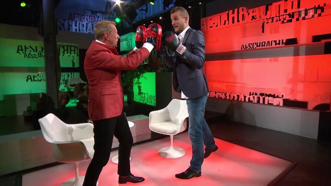 Janosch Nietlispacher der Kickboxer