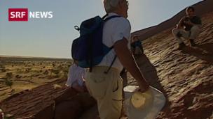 Video «Schluss mit Klettern am Uluru» abspielen