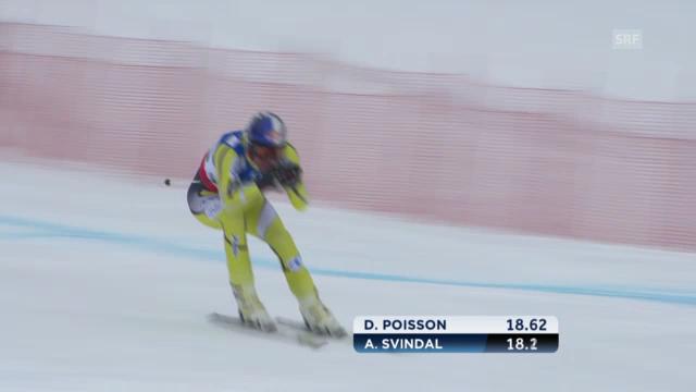 WM-Abfahrt: Aksel Svindal