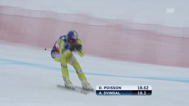 Video «WM-Abfahrt: Aksel Svindal» abspielen