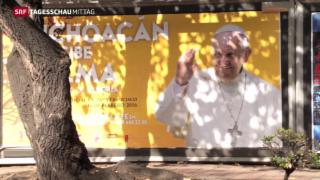 Video «Papst besucht Mexiko» abspielen