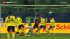 Video «Fussball: St.Gallen - YB» abspielen
