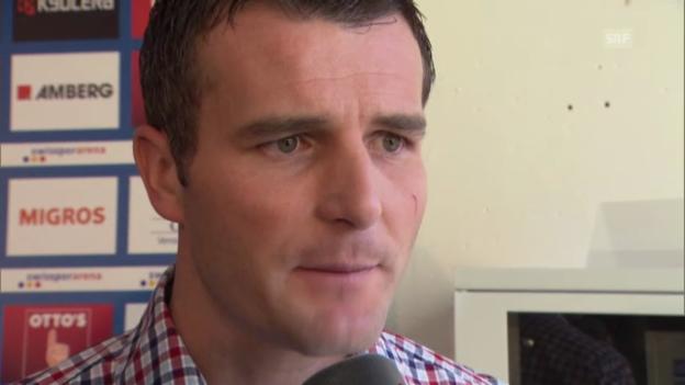 Video «Fussball: Interview mit Alex Frei zu seinem Engagement als Sportdirektor des FC Luzern» abspielen