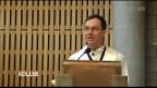 Video «Pius Blätters Geständnis vor seiner Kirchgemeinde.» abspielen