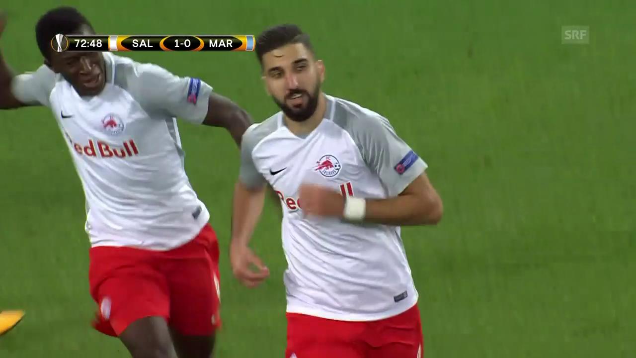 Dabburs Siegtreffer gegen Marseille