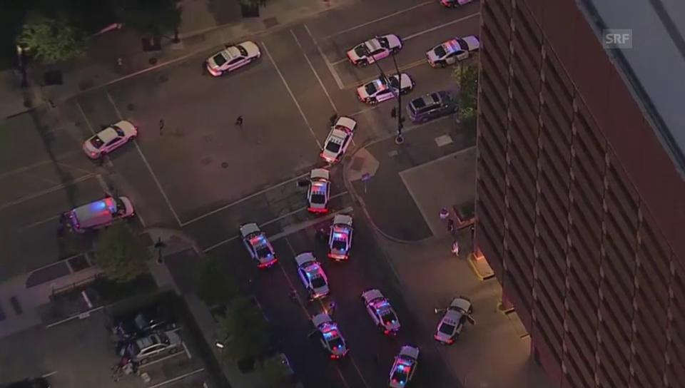 Acziun da la polizia a Dallas (nuncommentà)