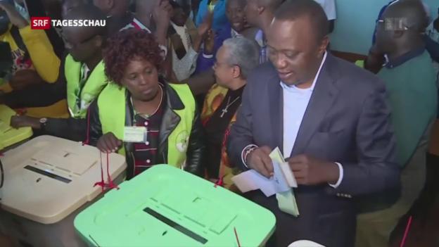 Video «Kenia wählt» abspielen