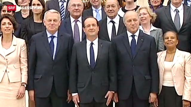 François Hollande und seine transparenten Minister