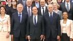 Video «François Hollande und seine transparenten Minister» abspielen