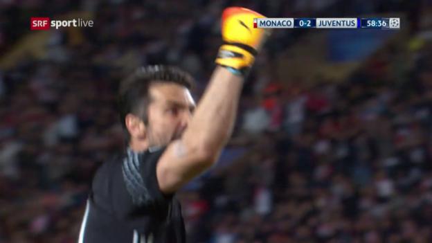 Video «Monaco-Juventus: Live-Highlights» abspielen
