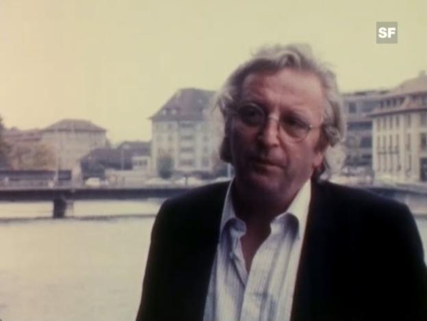 Video «Peter Bichsel über die Zeit» abspielen