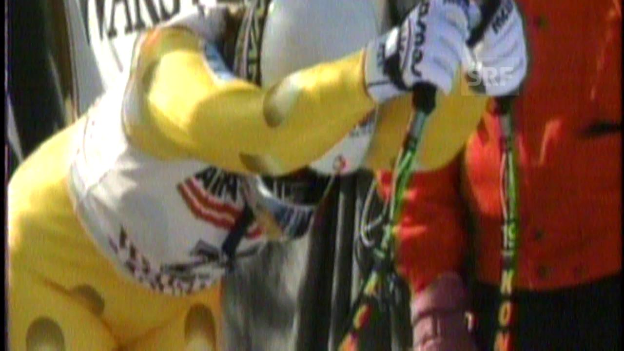 1994: Raketenstart von Heidi Zeller-Bähler