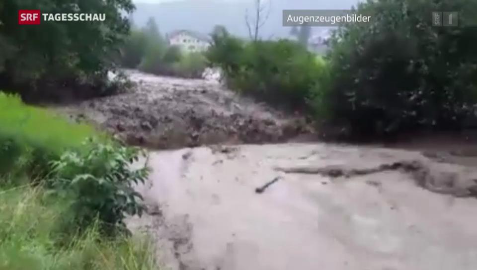 Die Schweiz rüstet sich für neue Hochwasser