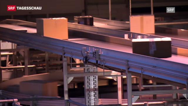 Post verzeichnet Rekord beim Paket-Versand (Tagesschau, 26.12.2012)