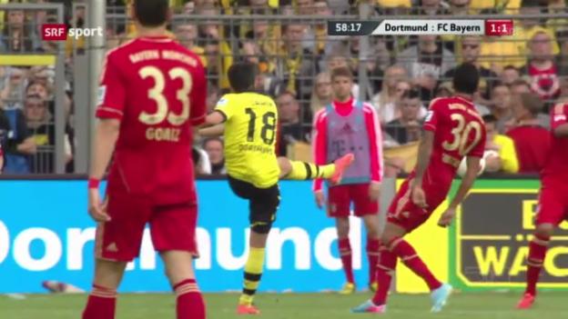 Video «Spielbericht Dortmund - Bayern» abspielen