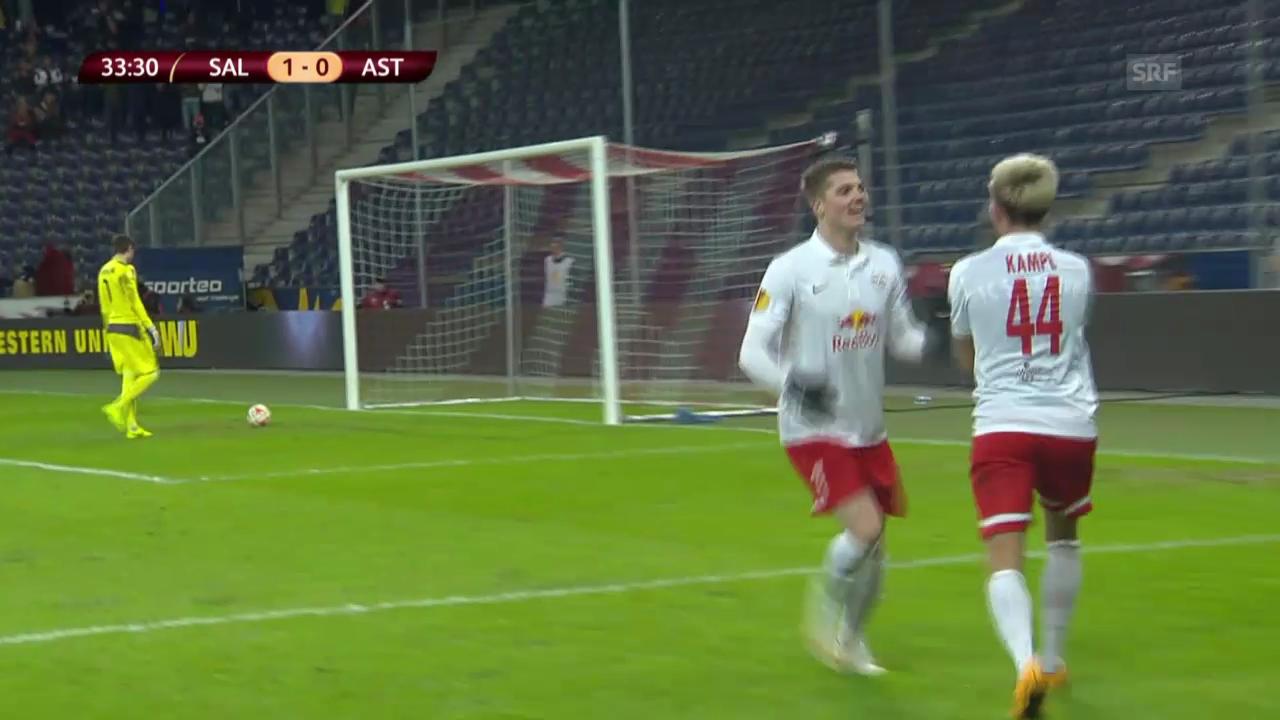 Fussball: Europa League, Salzburg - Asteras Tripolis