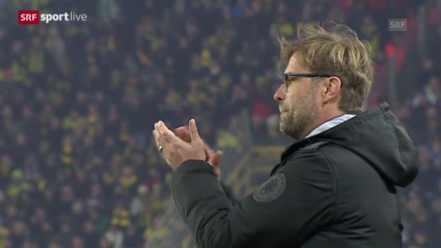 Video «Fussball: Zusammenfassung BVB - Anderlecht» abspielen