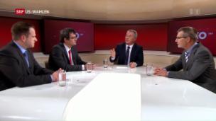Video «USA erneuern – Was ist dran an Trumps Wirtschaftsprogramm?» abspielen
