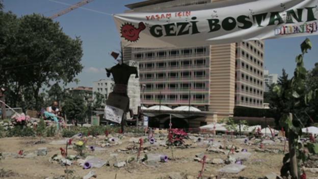 Video «Gezi: «Dieser Kampf ist weltumspannend»» abspielen