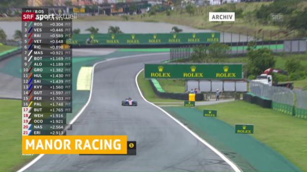 Video «Manor verabschiedet sich aus der Formel 1» abspielen