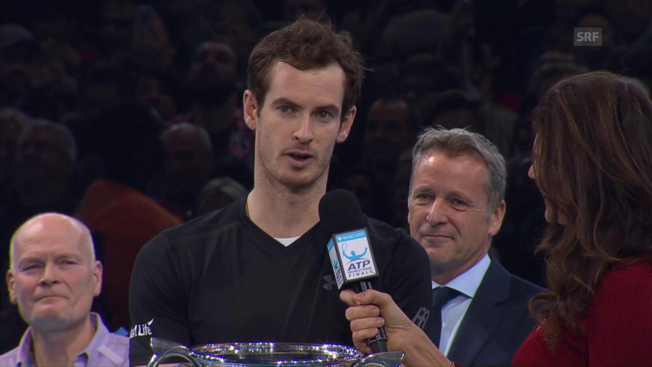 Murray: «Das alles ist so speziell für mich»