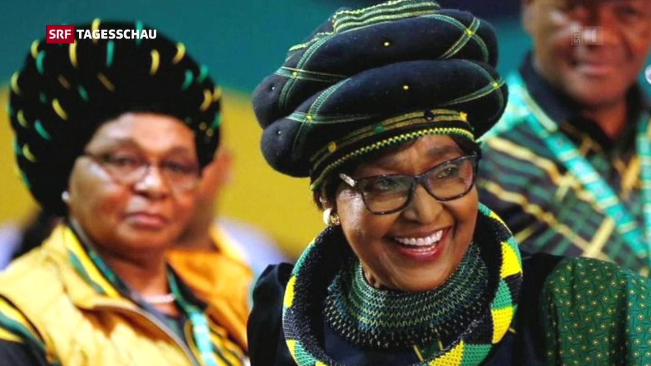 Winnie Mandela verstorben