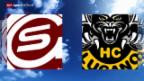 Video «Eishockey: NLA, Genf - Lugano» abspielen