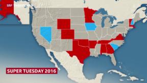 Video «Weichenstellung im US-Vorwahlkampf» abspielen