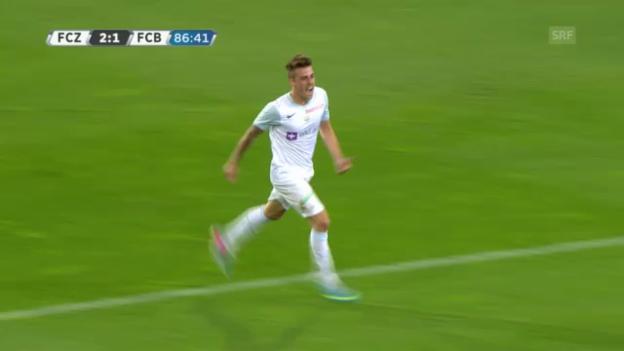Video «Highlights FCZ - FCB» abspielen
