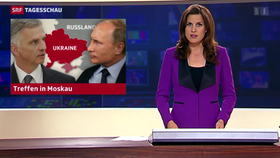 Ukraine-Krise: Burkhalter trifft Putin