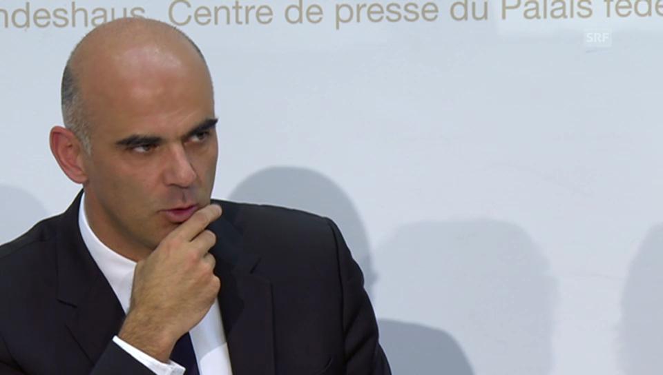 Medienkonferenz von Alain Berset (französisch)