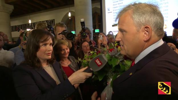 Video «BE: Hans Stöckli (SP) zu seinem Ergebnis» abspielen