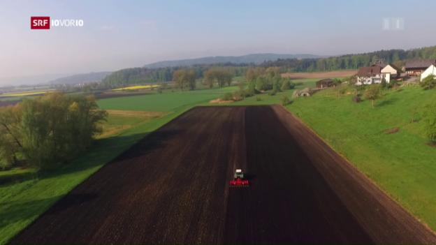 Video «Schweizer Bauern auf Landkauf im grenznahen Ausland» abspielen