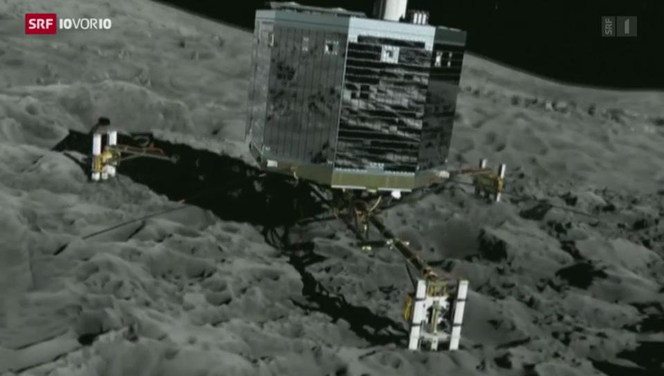 Rosetta-Landung: Grosser Moment der Raumfahrt