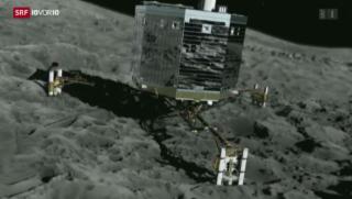 Video «Rosetta-Landung: Grosser Moment der Raumfahrt» abspielen