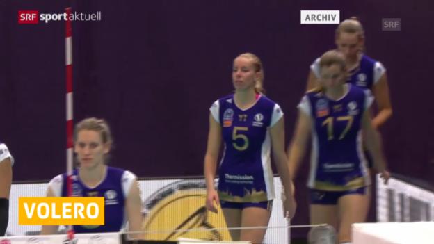 Video «Volleyball: Volero überzeugt in Istanbul («sportaktuell»)» abspielen
