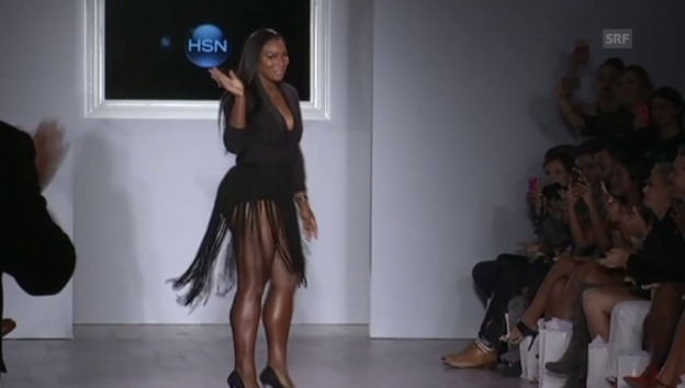 Video «Serena Williams an der Fashion Week New York» abspielen