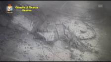 Link öffnet eine Lightbox. Video Überwachungsvideo zeigt den Viadukt-Einbruch in Genua (unkommentiert) abspielen