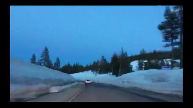 Video «Die Anreise von San Francisco nach Squaw Valley im Zeitraffer» abspielen