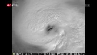 Video «Hurrikan «Michael» trifft in Florida auf Land» abspielen
