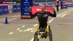 Video «Hug gewinnt New York Marathon» abspielen