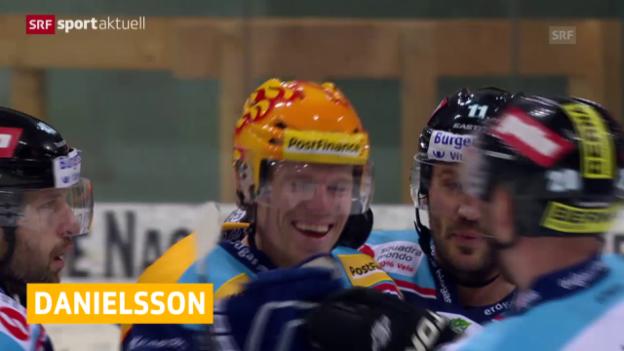 Video «Eishockey: NLA, Zuzug für Lausanne» abspielen