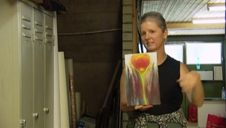 Link öffnet eine Lightbox. Video Miriam Cahn: Kunst als Kommentar zur Zeit abspielen