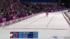 Video «Biathlon: 15 km der Frauen, Zieleinlauf Selina Gasparin (sotschi direkt, 14.02.2014)» abspielen