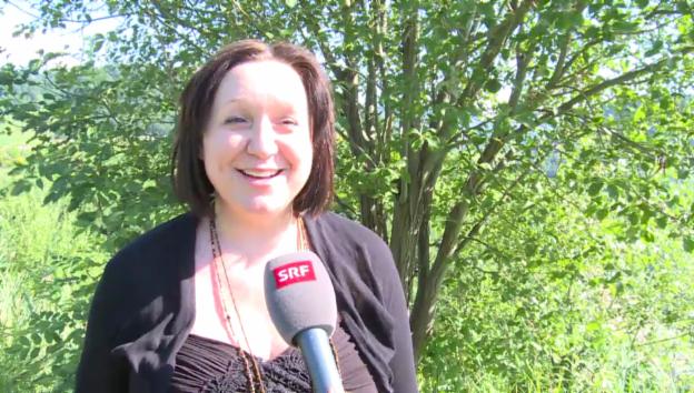 Video «Schwangere DJ Tatana über ihre Zukunft» abspielen