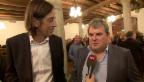 Video «Ein Kunstpreis für Mike Müller und Pedro Lenz» abspielen